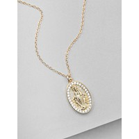 Mary Necklace - Gold