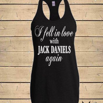 Country Shirts, Miranda Lambert Shirt, Jack Daniels Shirt, Country Song, Whiskey Tank, Womens (Fitted Style) Soft Blend Racerback Tank Top