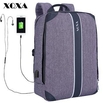 Anti-theft USB charging laptop backpack for Women Men Backpack School backpack Bag for Male