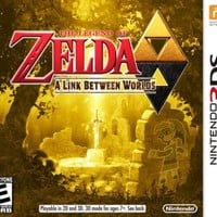 The Legend of Zelda: A Link Between Worlds - Nintendo 3DS