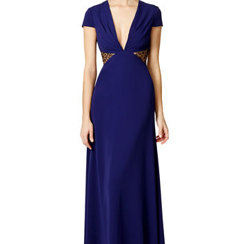Jill Jill Stuart Side Part Gown