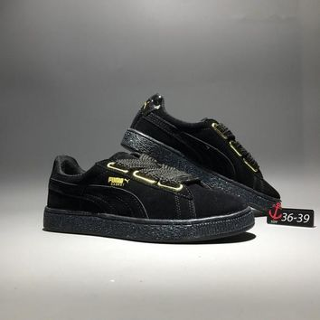 """Puma"" Suede Classic Simple Women Sport Casual Fashion Plate Shoes Sneakers"