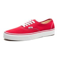 VANS AUTHENTIC - RED | Undefeated