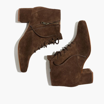 The Walker Lace-Up Boot : shopmadewell boots   Madewell