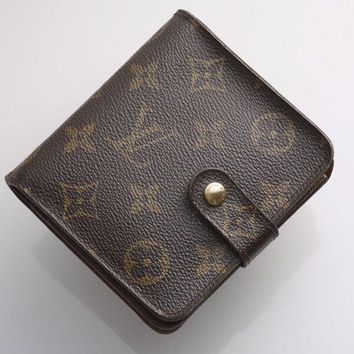 G7162 Authentic Louis Vuitton Monogram Bifold Wallet