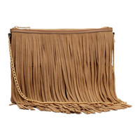 Fringed Shoulder Bag - from H&M