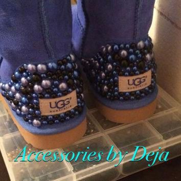 DCCK8X2 Pearled ugg boots