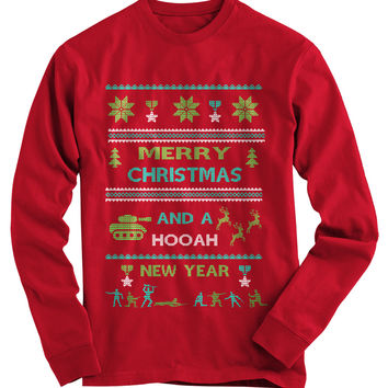 Army Ugly Christmas Sweater - On Sale