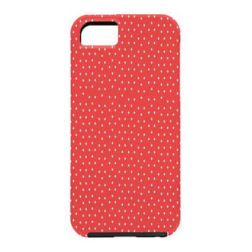Allyson Johnson Red Dots Cell Phone Case