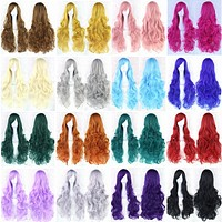20 Colors Wavy Long Wig