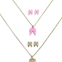 Angel Necklace & Earring Set