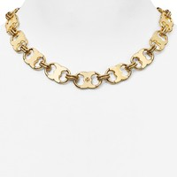 Tory Burch Gemini Link Chain Necklace, 16"