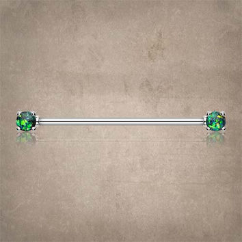 Black Opal Industrial Barbell