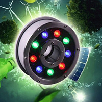 9W Led Underwater Lamps Swimming Pool Light Ip68 Waterscape Light Ac12V/24V Fontaine Led Light Shipping