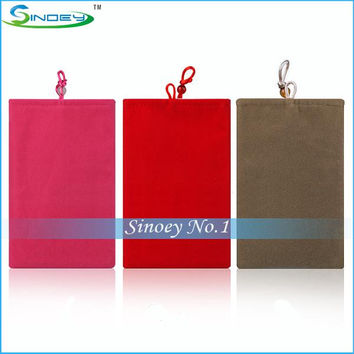 Fashional Soft Cloth Sleeve Case Bag Pouch Cover suit for 7-10 inch Android 5.0 Octa Tablet PC Quad Core Phablet mtk8389 RK3288 MID