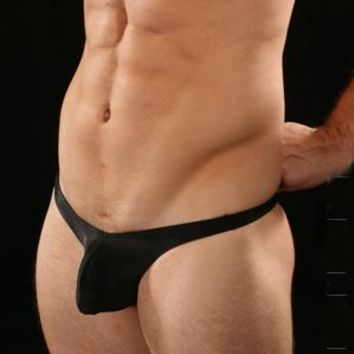 Black Sling Shot G Mens Sexy Underwear