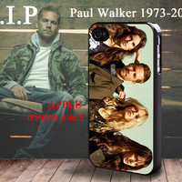 RIP Fast & Furious Paul Walker Brian O'Conner iphone 4 4S case iphone 5 Case Rare Limited Edition