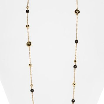 Tory Burch Rosary Station Necklace | Nordstrom