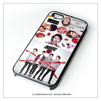 Red Cross 5Sos iPhone 4 4S 5 5S 5C 6 6 Plus , iPod 4 5 , Samsung Galaxy S3 S4 S5 Note 3 Note 4 , HTC One X M7 M8 Case