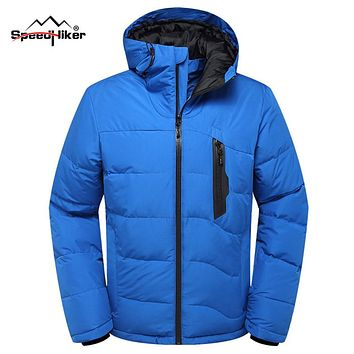 Speed Hiker Winter 90% duck down parkas jacket men Heat-reflective warm hooded waterproof Camouflage Multifunction waterproof