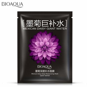 3Pcs Mexican Daisy Deep Moisturizing Mask Giant Water Face Mask Acne Treatment Oil Control Anti Aging Skin Face Care Facial Mask
