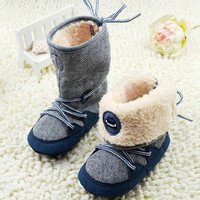 Baby Boys Winter Warm Boots