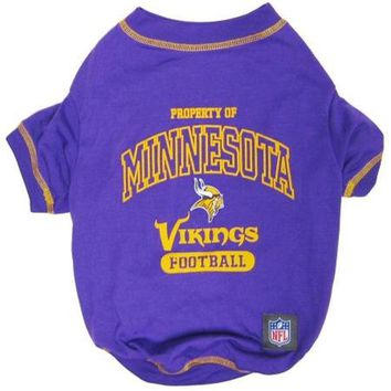LMFHJ2 Minnesota Vikings Pet Shirt LG