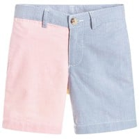 Boys Cotton Colour Block Shorts