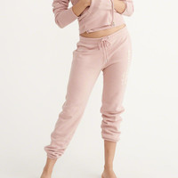 Womens Heritage Logo Sweatpants | Womens Bottoms | Abercrombie.com