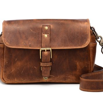 ONA - Leather Bowery Antique Cognac Messenger Bag