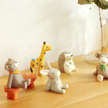 Dailylike Decorative cute resin animal giraffe