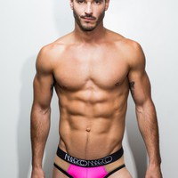 Nude Illusion Brief (Neon Pink)