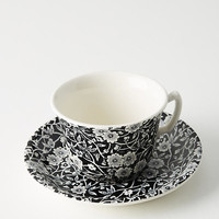 Soho Home Burleigh Calico Teacup & Saucer