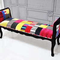 Marquis patchwork bench - 2