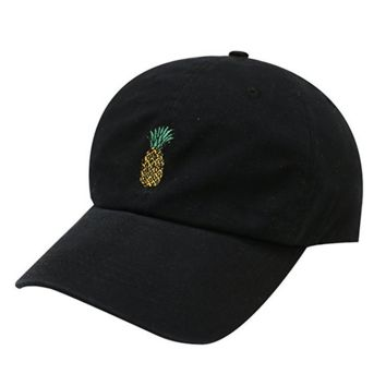 Pineapple Cotton Baseball Cap
