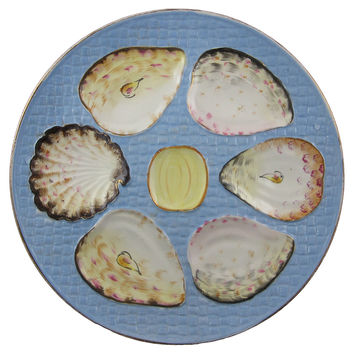 Franz Mehlem Oyster Wall Plate