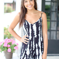 What Dreams are Made of Romper - Black