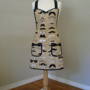 Mustache Apron - Tom Selleck