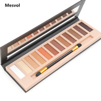 Makeup Eyeshadow Palette 1pcs 12 colors Matte&Shimmer Smoky Eye Shadow Palette Net 10.8 g 8612