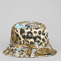 Stussy Wildlife Bucket Hat - Yellow