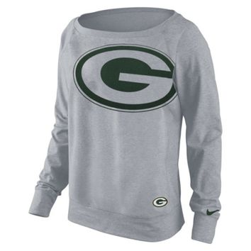 Women's Green Bay Packers Nike Dri-FIT Epic Wildcard Long Sleeve T-Shirt