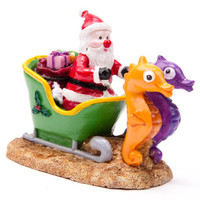 Top Fin® PetHoliday™ Santa Sleigh - Decorations - Fish - PetSmart