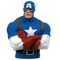 Captain America Bust Bank - Monogram - Captain America - Banks at Entertainment Earth