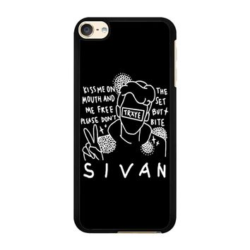 Troye Sivan Art Kiss Me On Mouth Arf 001  iPod Touch 6 Case