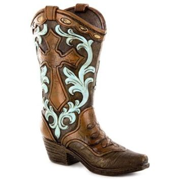 Brown Light of Salvation Resin Boot | Shop Hobby Lobby
