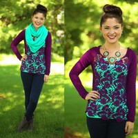 Plum Perfection Top