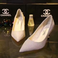 shosouvenir : CHANEL Fashionable and casual high heel shoes