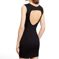 OPEN BACK SHEATH DRESS