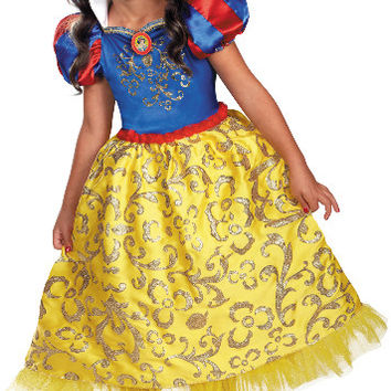 disney snow white deluxe sparkle toddler-child costume