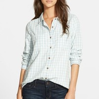 Women's Treasure&Bond Check Cotton Shirt,
